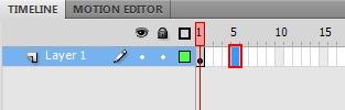 membuat teks animasi bergerak di adobe flash