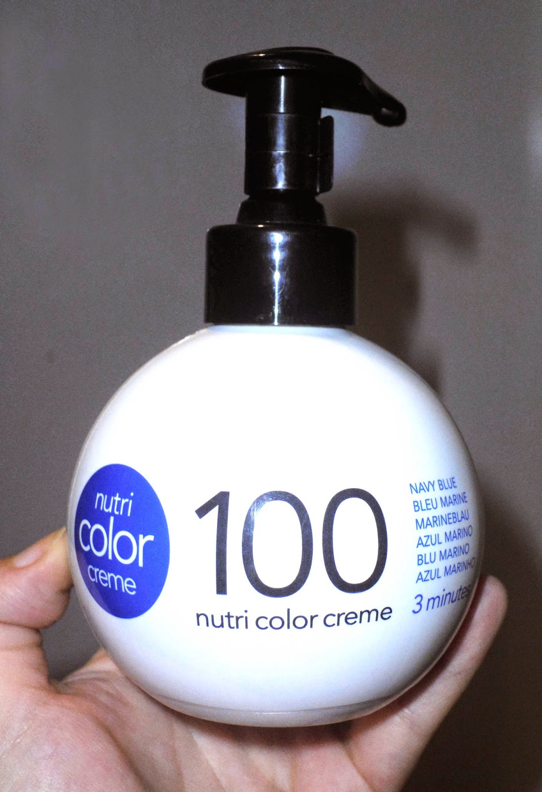 revlon nutri color creme 100 blue azul