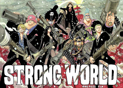 Cover Komik One Piece Strong World