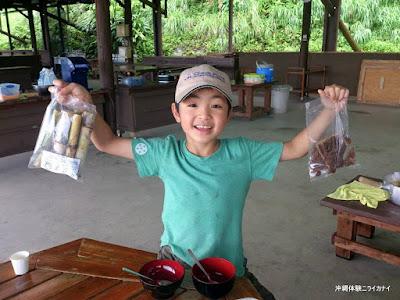 沖縄のサトウキビ体験