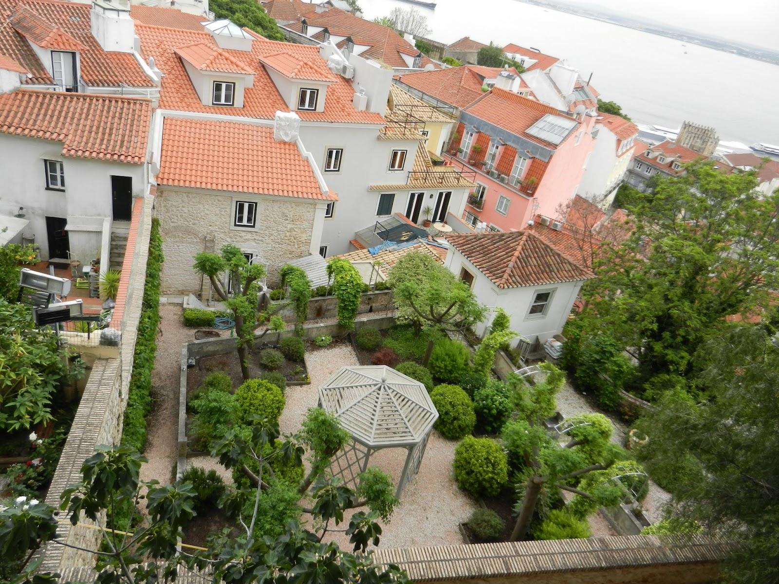 Лиссабон, виды из крепости
