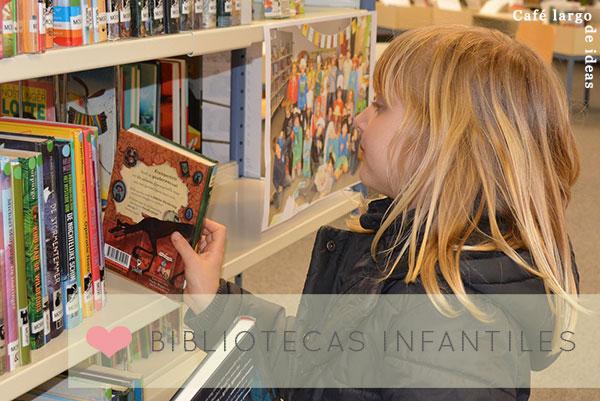 Bibliotecas Infantiles Diferentes Caf Largo De Ideas