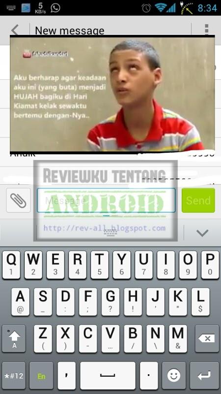 Contoh saat play video GPLAYER - Play video sambil membuka aplikasi lain dengan mudah (rev-all.blogspot.com)