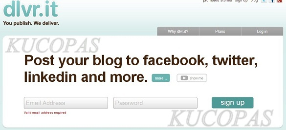 Cara Share Otomatis Posting Blog Ke Twitter Dan Facebook