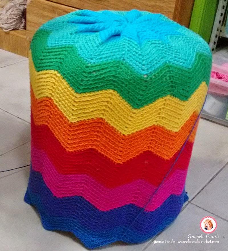 deco crochet sillones