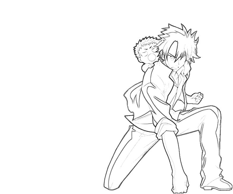 tatsumi-oga-action-coloring-pages