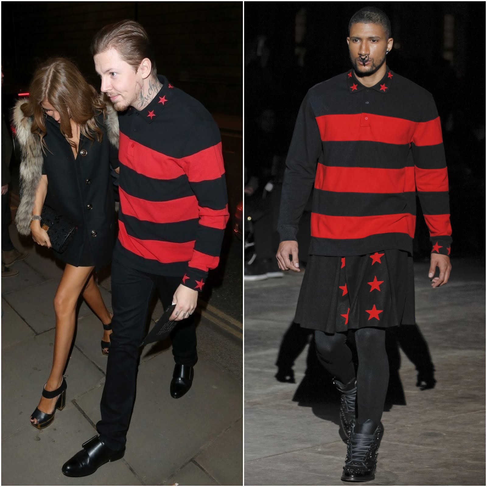 00O00 Menswear Blog Professor Green in Givenchy - #Brits2013 Universal Records after party