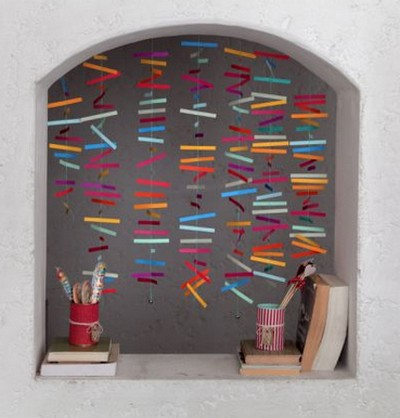C mo hacer una cortina de papel portal de manualidades - Como construir una cortina de agua ...