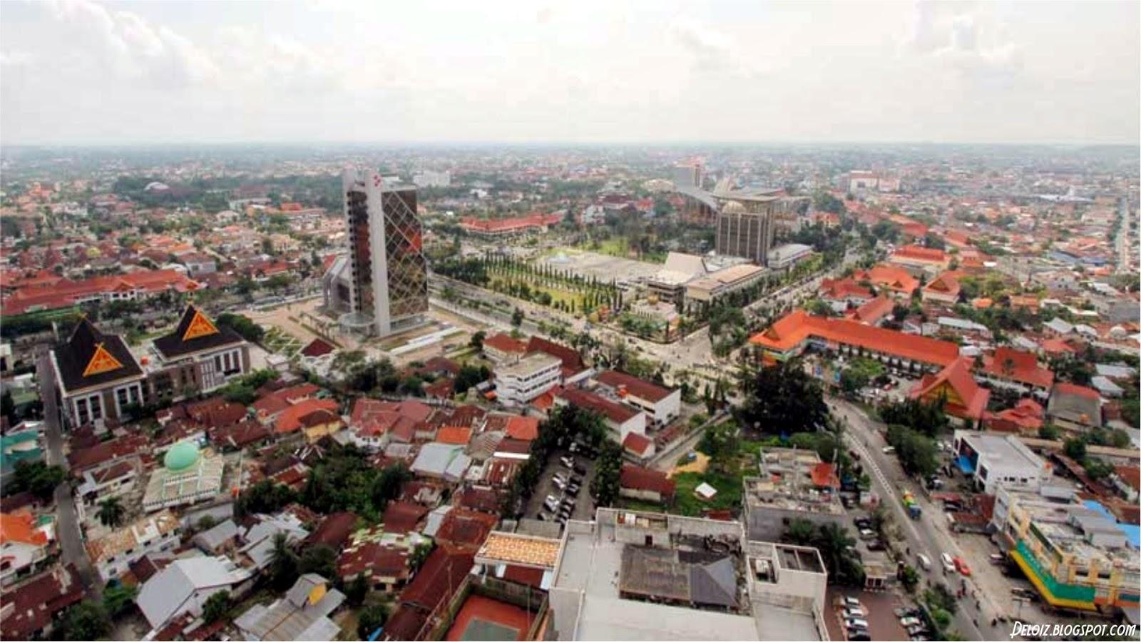 Wallpaper Kota Besar di Indonesia