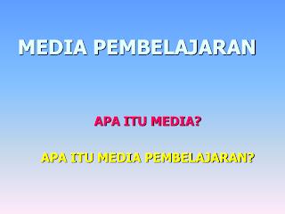 MEDIA BELAJAR MATEMATIKA