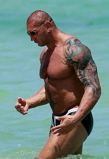Dave Batista Tattoos WWE Superstar Tattoo Designs