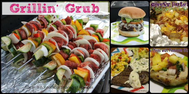 Grillin' Grub: 5 Recipes To Try This Summer #grill #recipes #summer | www.fantasticalsharing.com