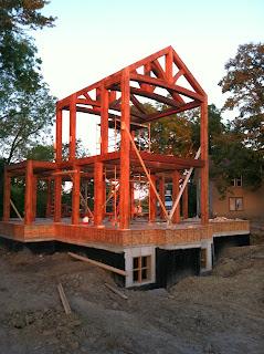 Blue ox timber frames blog custom timberframe home builders for Home builders com