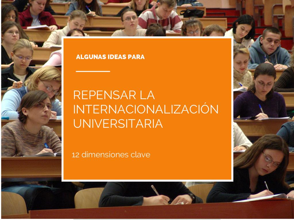 Repensando la internacionalización universitaria
