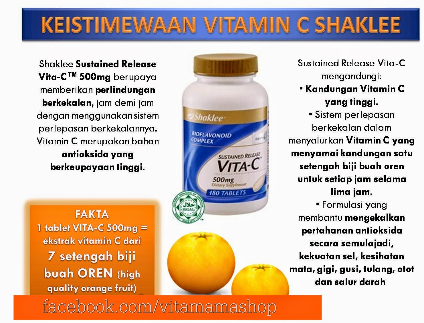 beza vitamin c shaklee dengan vitamin lain