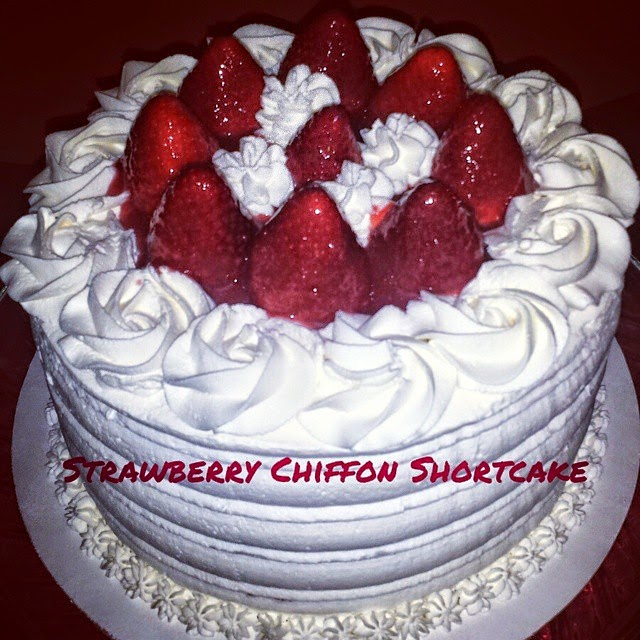 "My Cake Sweet Dreams"": Strawberry Chiffon Shortcake"