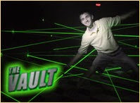 Challenge The Vault laser competition