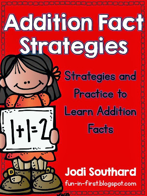 http://www.teacherspayteachers.com/Product/Addition-Fact-Strategies-and-Practice-412488