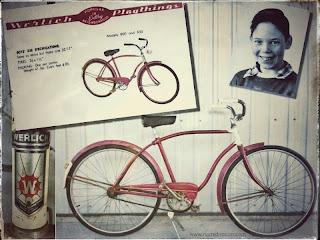 Neil Young Fahrrad 1954