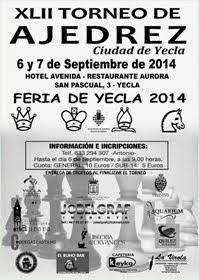 XLII Torneo de Ajedrez Ciudad de Yecla