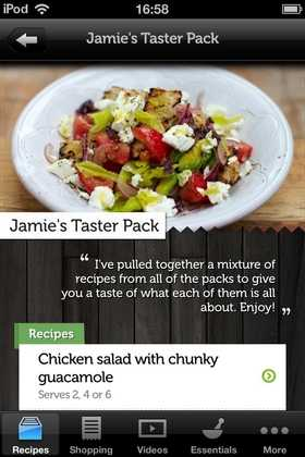 Jamies recipes