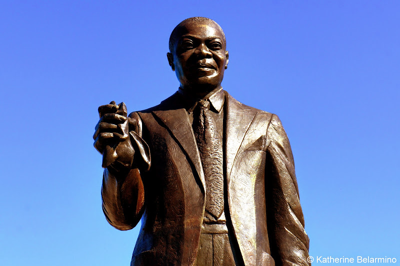 "Louis ""Sachmo"" Armstrong Statue New Orleans"