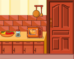 Solucion Witty Kitchen Escape Guia