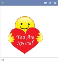 You Are Special Smiley Face With Heart