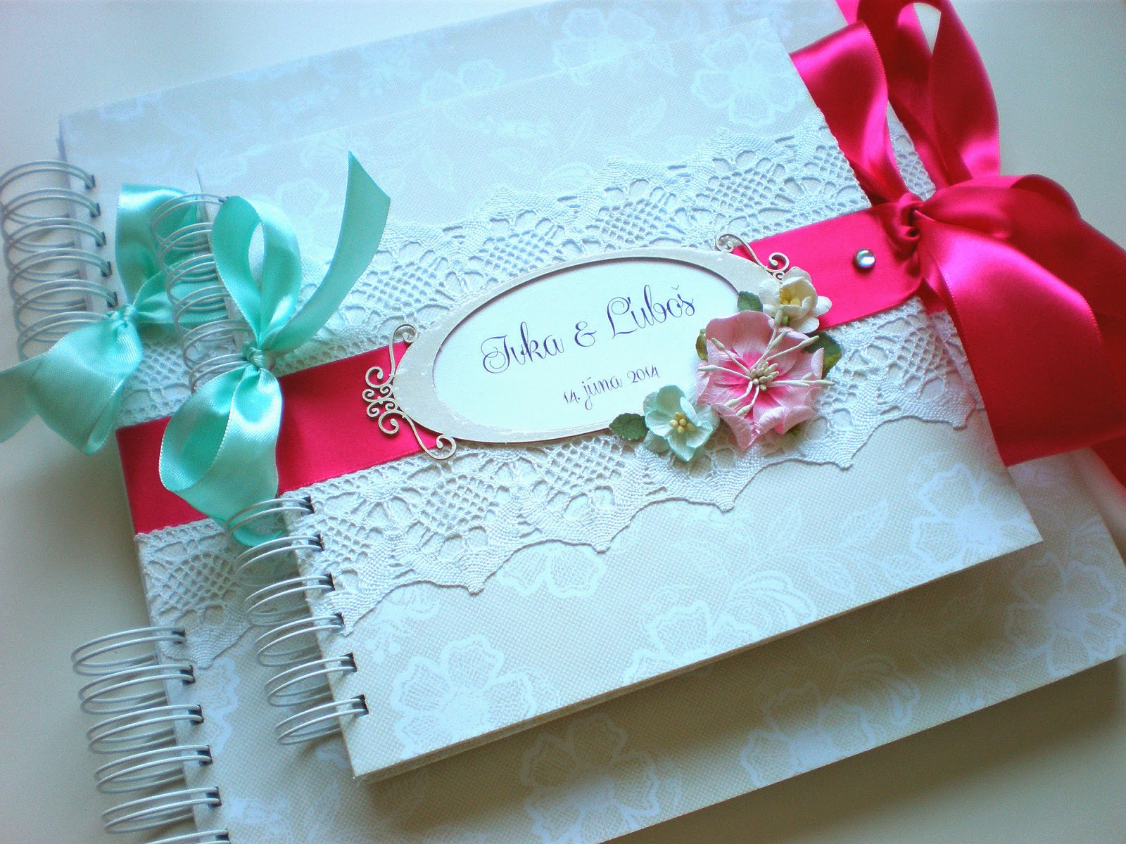 Svadobný Album & Kniha hostí / Album & Wedding guest book