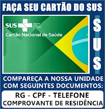 CARTÃO DO SUS
