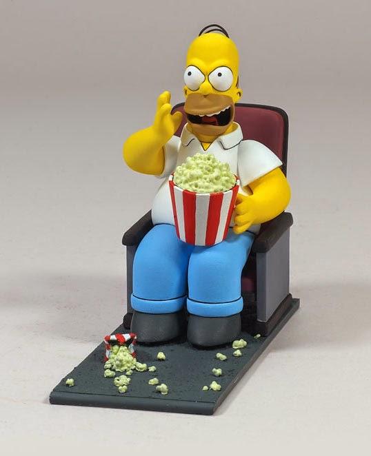 Figura Homer Simpson Butaca de Cine
