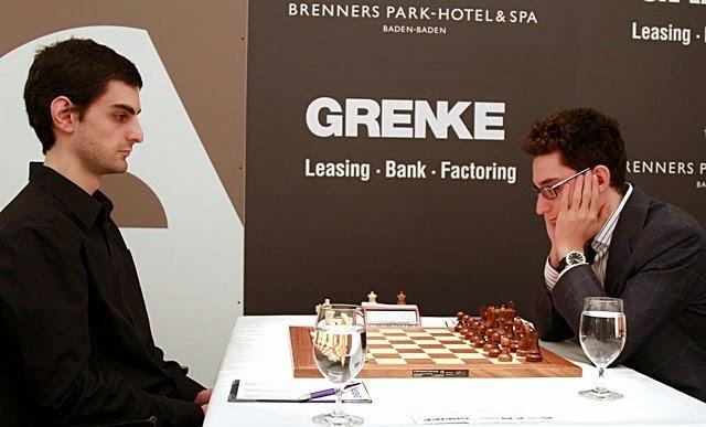 Baramidze - Caruana, Grenke Chess Classic