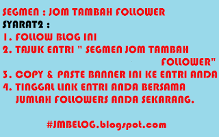 SEGMEN : JOM TAMBAH FOLLOWER
