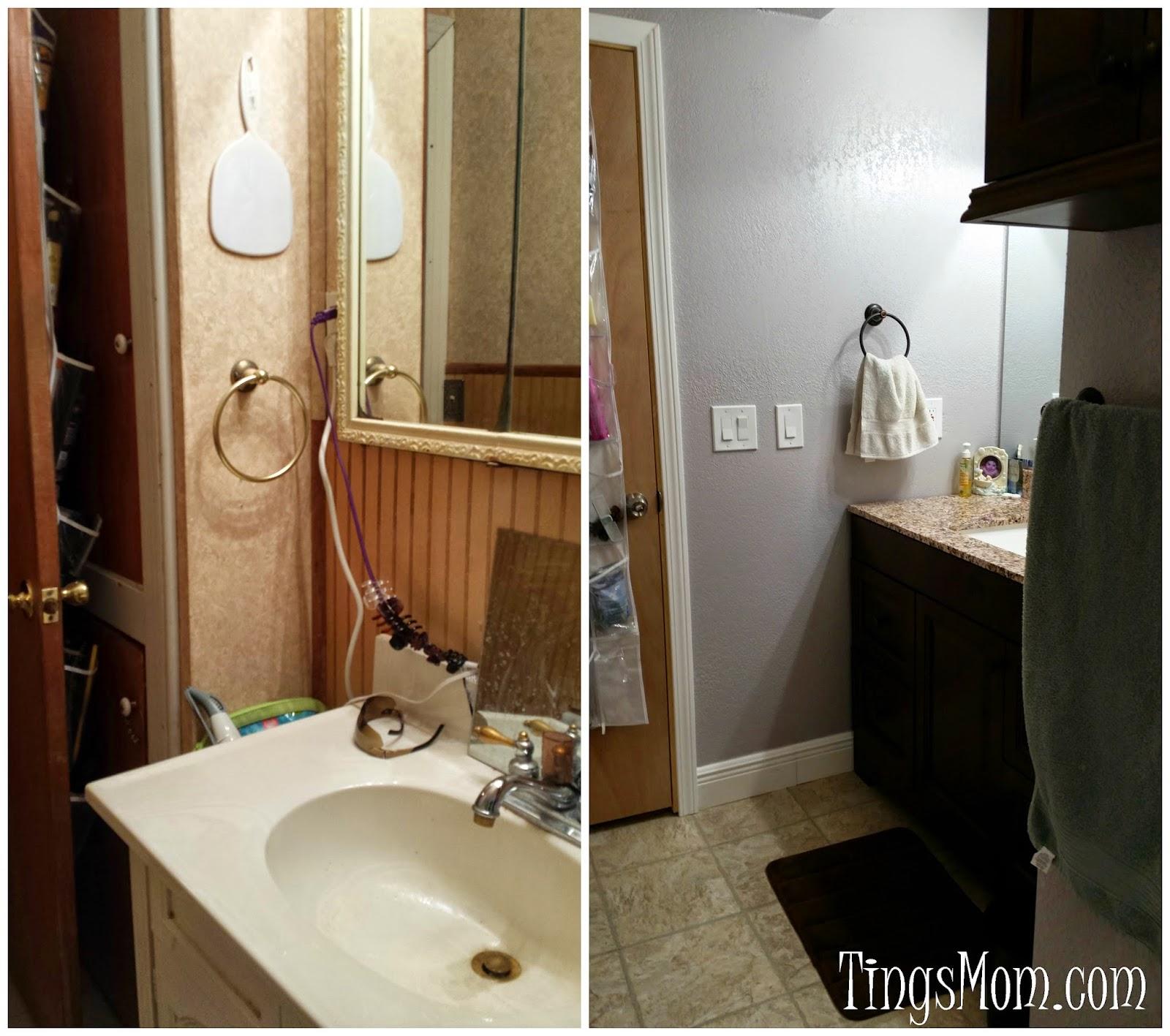 Bathroom Makeover | #bathroom #homeimprovement