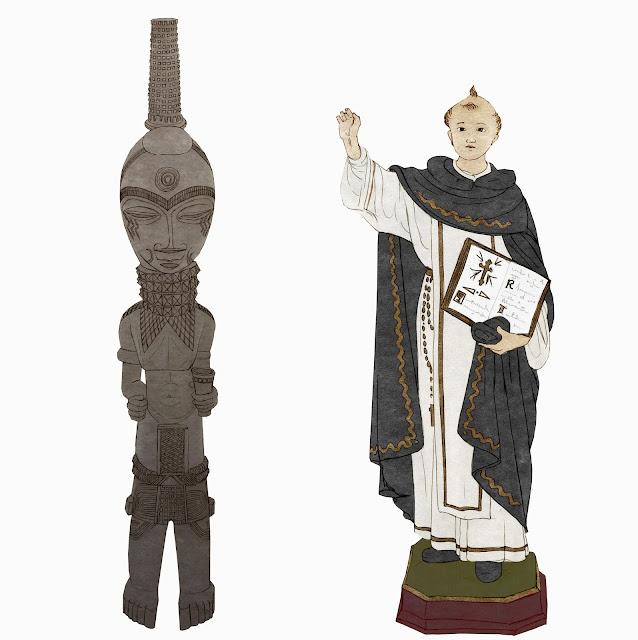"""Africa, antropologia, ostreticia, """"Xibola bena Luba"""" , San Vicente"""