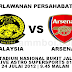 video malaysia vs arsenal - 24 julai 2012 (friendly asia tour 2012)