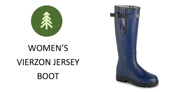 Le Chameau Vierzon Jersey Women's Wellington Boot