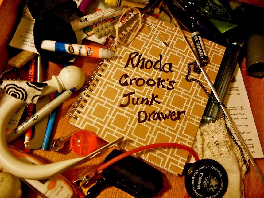 Rhoda Crook's Junk Drawer