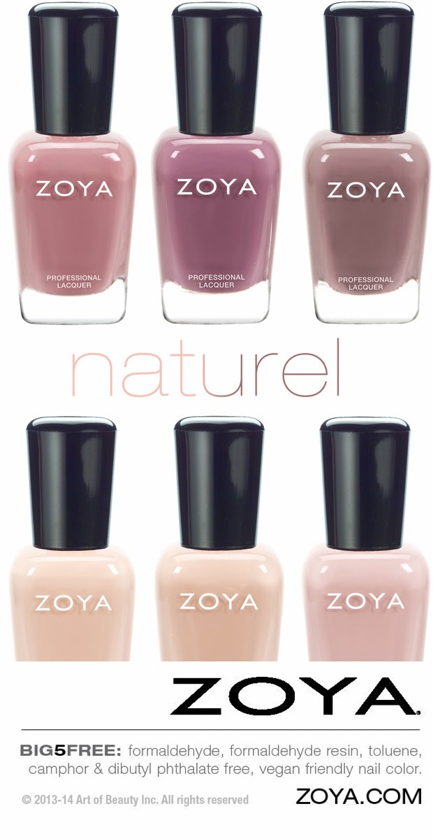 Press Release Zoya Nail Polish Introduces New Collection Naturel