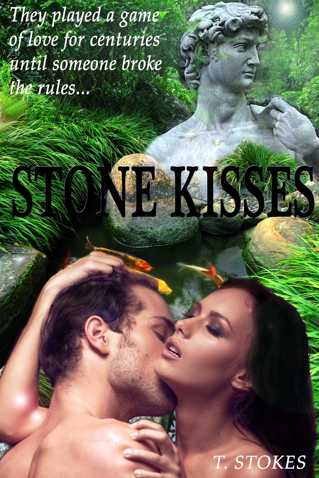 Stone Kisses a modern fantasy romance ONLY available on Amazon