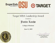 Target Leadership Award Winner
