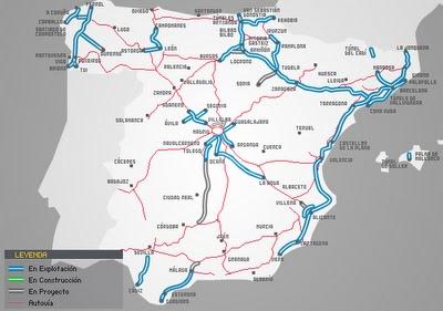 Consulta datos sobre las autopistas en España, recorridos, tarifas, y EESS, etc.