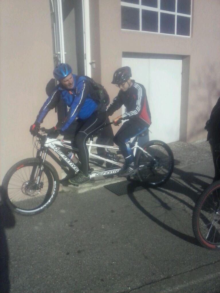 Jean Claude et Vincent, première sortie et 20 km