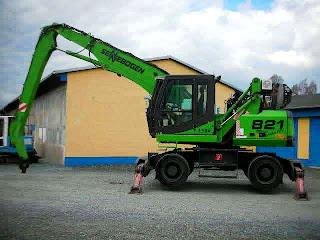 Excavator Industrial SENNEBOGEN 821M 21t An 2006