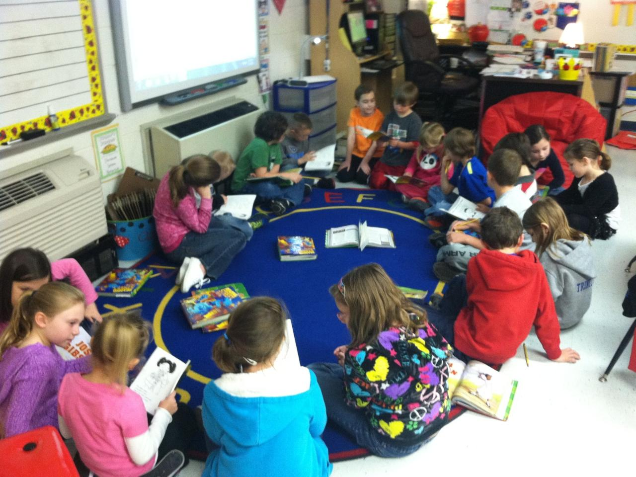 Worksheet Kindergarten Readers mrs lesas computer lab kindergarten readers we know how important reading is and these pictures show attentive second graders listening to the readers