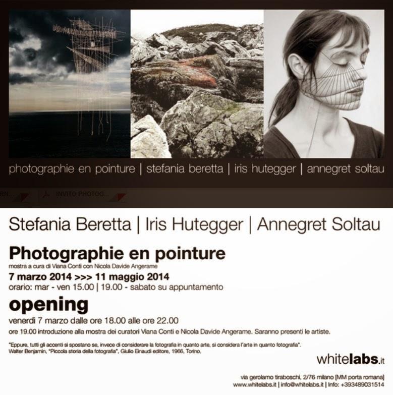 vernissage a Milano: mostra di Fotografia Cucita Photographie en Pointure il 7 marzo