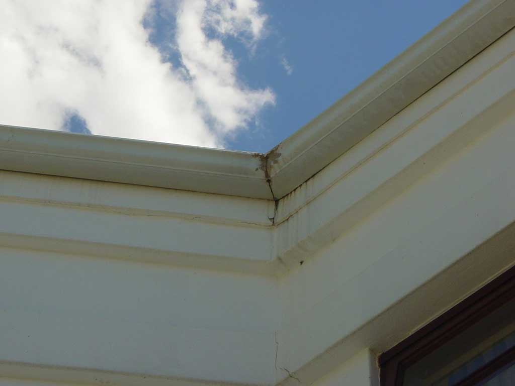 for Leaking roof gutter