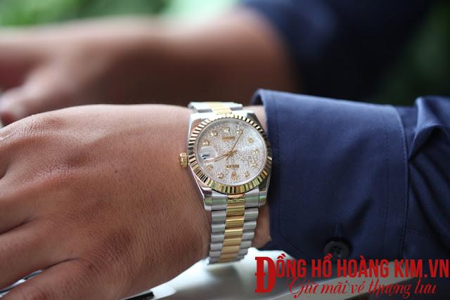Đồng hồ nam rolex với vẻ đẹp hút ánh nhìn