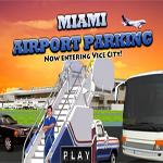 لعبة موقف سيارات المطار