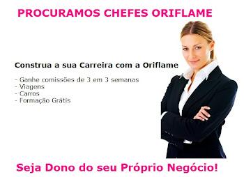 PROCURAMOS CHEFES ORIFLAME